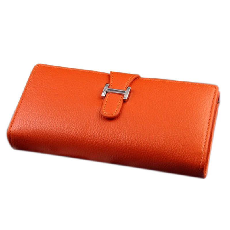 2015New Fashion Women Wallet 8Color HBuckle Hasp High quality Faux leather Wallets Long Ladies Clutch Bag Coin Purse Card Holder(China (Mainland))