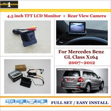 MB Mercedes Benz GL Class X164 2007~2012 - Car Rear Camera + 4.3 inch TFT LCD Screen Monitor = 2 1 Back Parking System Xi DaDa Store store