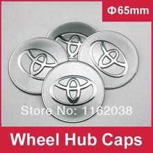 4 pcs C084 65 mm emblème Badge autocollant Wheel Hub Caps centre Cover blanc TOYOTA COROLLA Camry couronne PRIUS REIZ pagination YARIS EZ(China (Mainland))