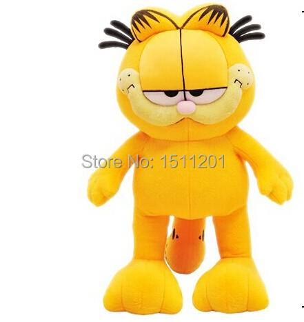 Hot Selling! 1pcs 8 20cm Plush Garfield Cat Plush Stuffed Toy High Quality Soft Plush Figure Doll Free Shipping<br><br>Aliexpress