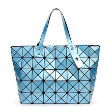 2016 New Bao bao women pearl bag Diamond Lattice Tote geometry Quilted shoulder bag sac bags
