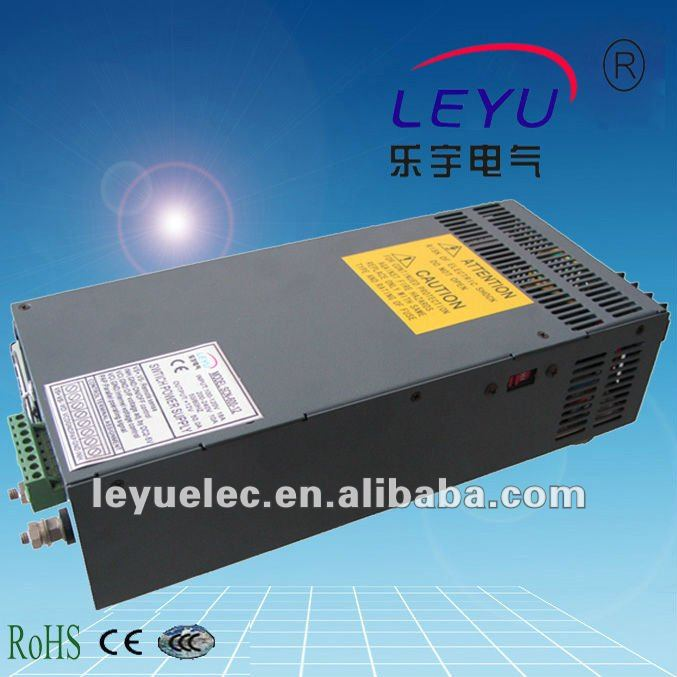 high quality CE 600w 12v 50a switching power supply high power series parallel function power supply for laboratory use(China (Mainland))