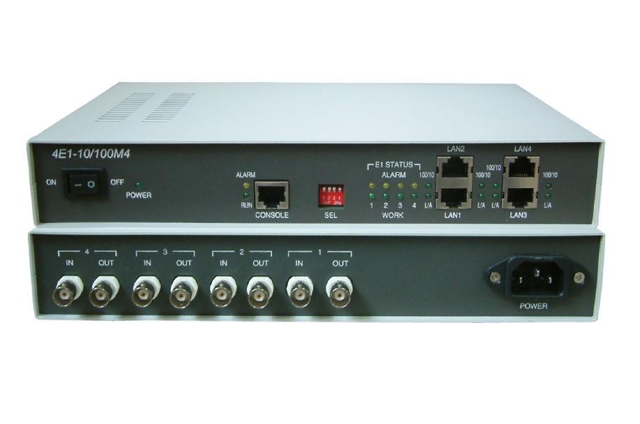 LAN bridge on existing e1 based networking 4e1 to 4 port ethernet protocol converter(China (Mainland))