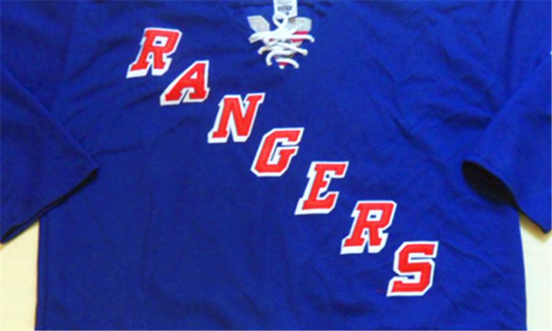 High Quality New York Rangers Pullover 36 Mats Zuccarello 27 Ryan McDonagh 30 Henrik Lundqvist White/Blue New Stitched Jerseys(China (Mainland))