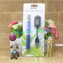 Electronic cigarette eGO CE4 blister kit  650mah 900mah 1100mah colorful e cig kit ego battery ce4 atomizer vs evod mt3