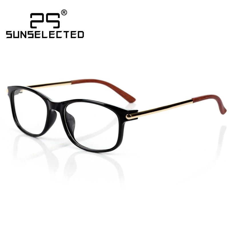 Unisex Clear glasses men Brand Designer w/ Golden Details ...