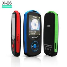 New Original RUIZU X06 Sports Bluetooth MP3 Player Hifi Music With 4GB 1.8Inch Screen 100hours High Quality Lossless Recorder FM(China (Mainland))