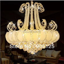 Chrome Crystal Chandelier Light Modern Silver Crystal Chandelier Light Lighting Width 60cm  Guaranteed 100% +Free shipping!(China (Mainland))