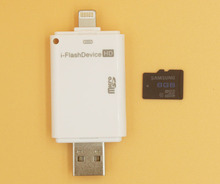 Best Sellers i Flash Drive HD Micro SD Memory Card Reader Adapter for iPhone 6 iPad