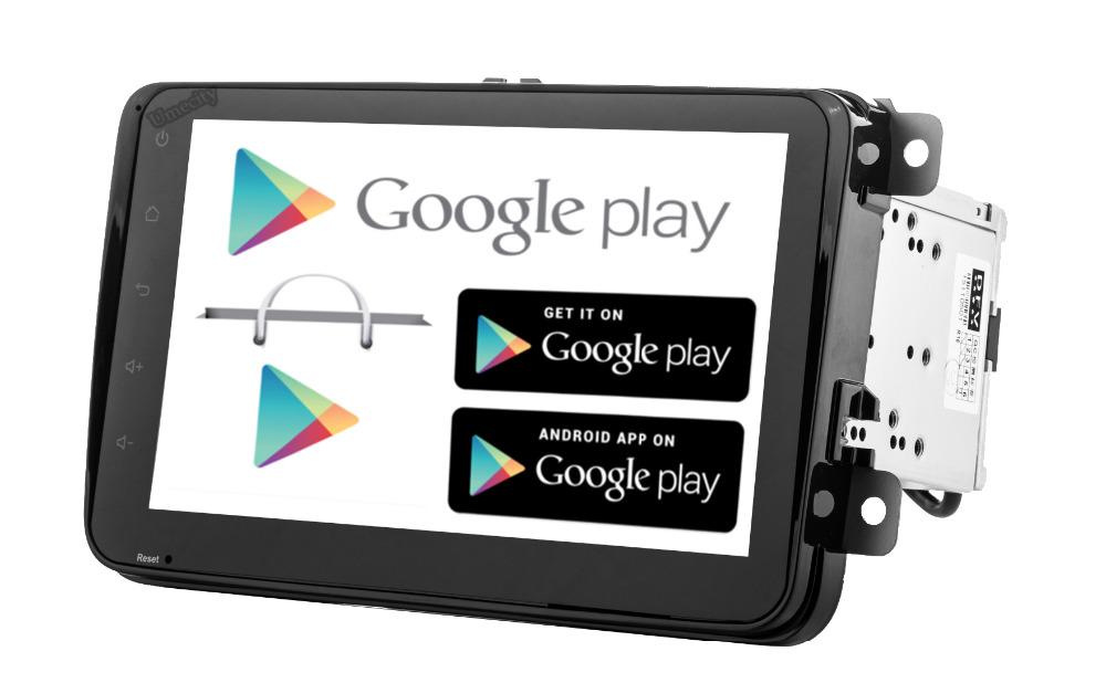 Quad Core 1024*600 Android 4.4 Car DVD player for skoda fabia 2 rapid Superb Yeti Octavia PASSAT CC JETTA TIGUAN TOURAN GPS(China (Mainland))