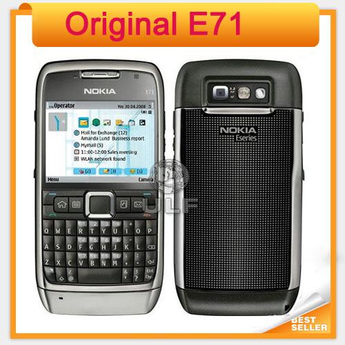 Original E71 Nokia Mobile Phone GPS Wi-Fi 3.2MP 3G Unlocked E71 Nokia Cell Phone(China (Mainland))