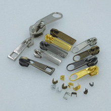 #3 #5 Molded Zipper Puller Slider Pull Stoppers Bottom Repair Replace Kit Stop C(China (Mainland))