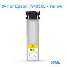 """T9491 XL T9491-T9494 пигмент чернильная коробка с чип для Epson WF-C5790a WF-C5290a принтера """"Mei Qing"""" (Азиатскому региону) T9491XL(China)"""