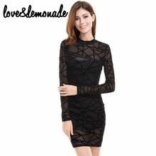 Buy Love&Lemonade Geometric Figure Mesh Party Dress TB 9719 for $29.99 in AliExpress store