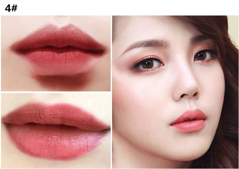 5 colors  Korean brand matte lipstick waterproof and long lasting beauty lips just like ruby woo and diva Lipsticks