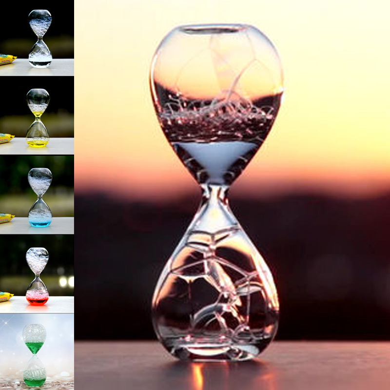Magic Office Decorative Glass Bubble Hourglass for kids,Girls Room Decoration Accessories Cheap Gifts for Student Desk Ornaments(China (Mainland))