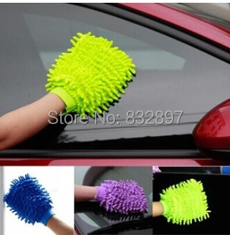 38g High quality microfiber car cleaning wash mitt auto truck clean mitten brush gloves tools cloth washer cleaner products(China (Mainland))