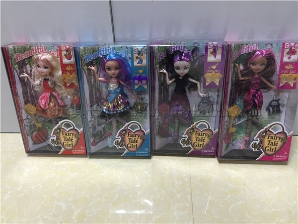 4pcs/lot Original Monster Highs Doll, Genuine Dolls, Fashion Girl Toy Baby Dolls, Monster Hight Toys(China (Mainland))