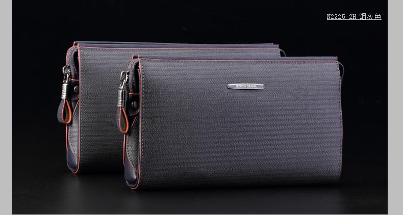 Европейский и американский мода мужчины из натуральной кожи высокое качество известный бренд клатч высокое качество мужские большая сумка емкость
