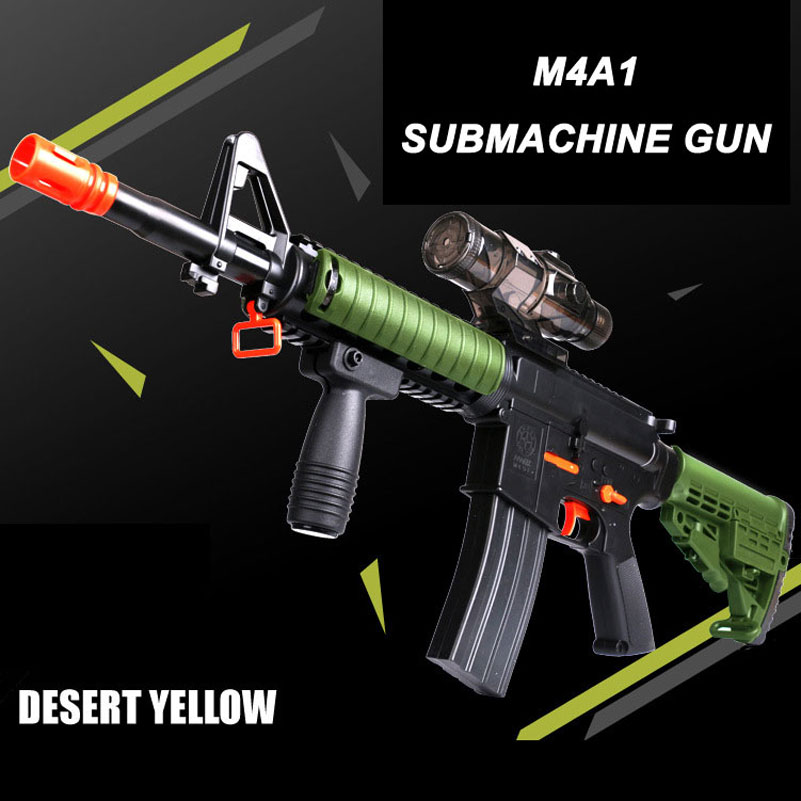 M4A1 Paintball Gun M4 Submachine Toy Gun Airsoft Sniper Rifle Arme Arma Orbeez Toys Desert Eagle Pistol Kids Toys Outdoor Fun(China (Mainland))
