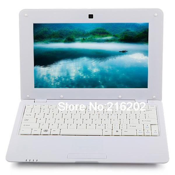 MTL1008 Notebook 1GB DDR3 4GB VIA WM8880 CPU 10 Inch Android 4.2 HD Screen White(China (Mainland))
