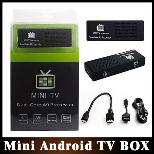 50%Shipping 5pcs/lot MK808 Bluetooth Android 4.1 Jelly Bean Mini PC RK3066 A9 Dual Core Stick TV Dongle Wholesale(China (Mainland))