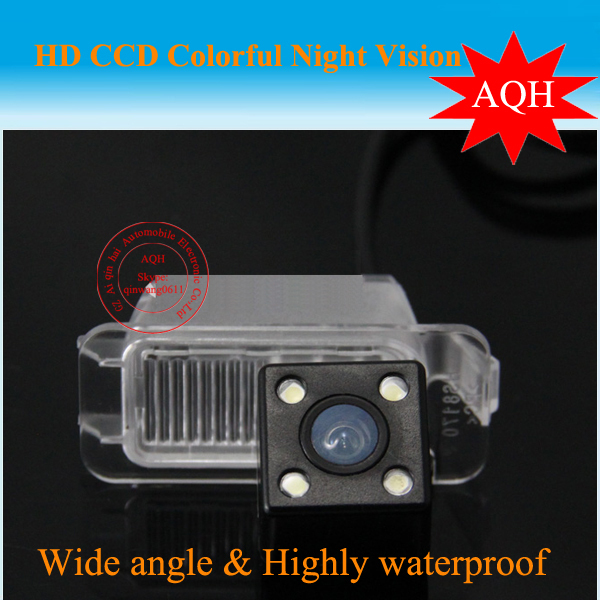 For Ford -Focus/Fiesta/Mondeo/S-Max/Kuga Car rear view Camera back up reverse with 4LED HD CCD for GPS(China (Mainland))