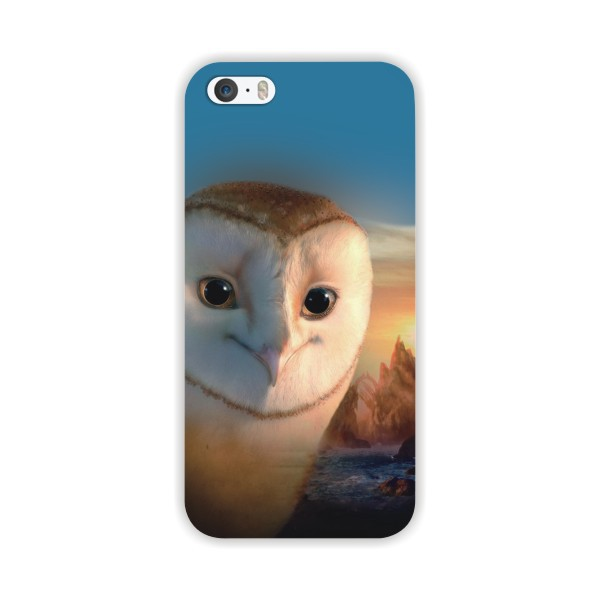 Phone Case Cover For Apple Iphone 6 2015 Hard PC Phone Bags cartoon angry Owl penguin Painted Painting Back Design MCB059(China (Mainland))
