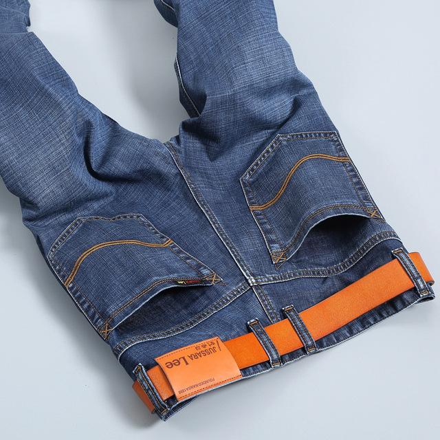 Новые 2016 знаменитый бренд мужчин джинсы Летом тонкие мужчина джинсы длинные прямые ...