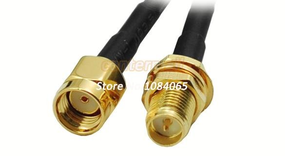 9M WiFi WAN Router Wi-Fi Antenna Extension Cable RP-SMA 254(China (Mainland))