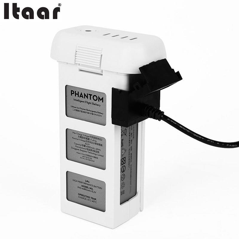 Car Charger Travel Charging for DJI Phantom 3 DC12V Accessory Parts Black