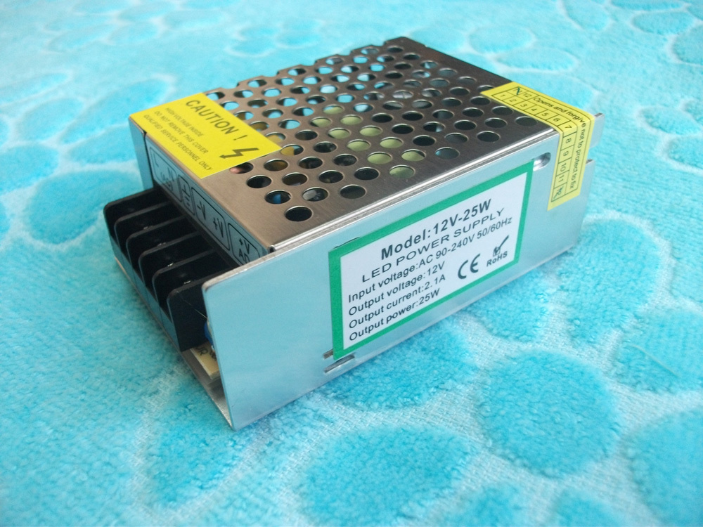 led transformer Contantly Voltage12V 2.1A 25W LED Driver CE RoHS(China (Mainland))