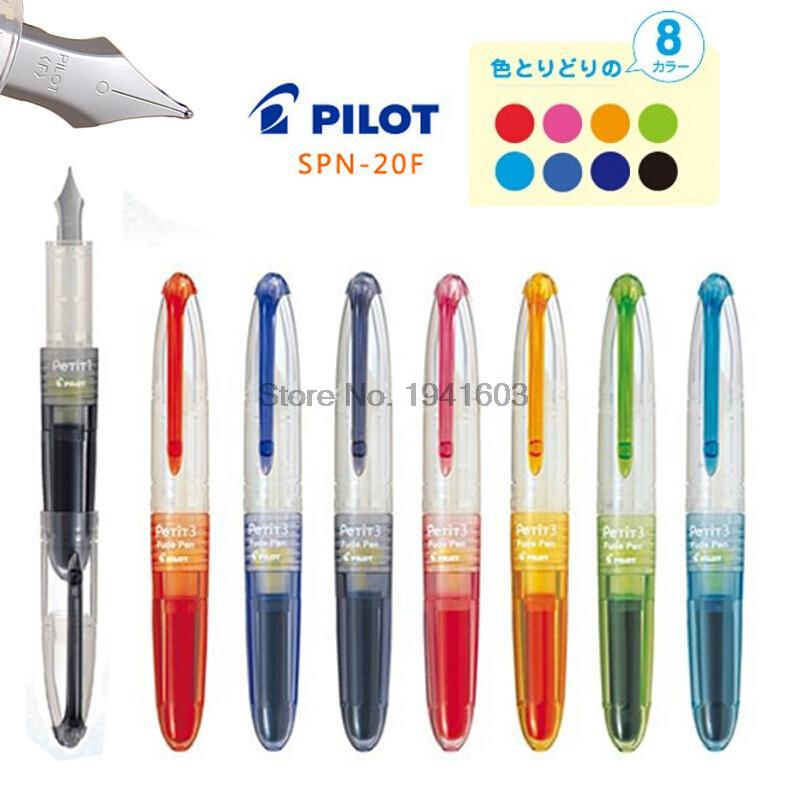 Fountain pen F 0.5 Nib 8 colors to choose PILOT SPN-20F office and school stationery Free Shipping<br><br>Aliexpress