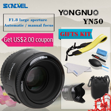 Buy YONGNUO YN 50mm yongnuo lens YN50 yn50mm F1.8 Lens Large Aperture Auto Focus Lens YN 50 YN50 Canon EOS Cameras for $55.90 in AliExpress store