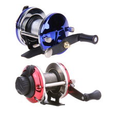 Buy Fully Adjustable 3.6:1 Ball Bearings Right Saltwater Ice Fishing Tackle Trolling Reels Line Drum Wheel Ice TB Liner Baitcasting for $3.70 in AliExpress store