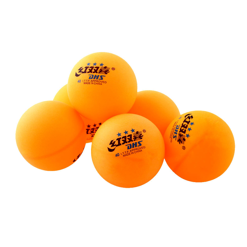 High 1 boxes 3 stars DHS 40MM Olympic Table Tennis Orange Yellow Ping Pong Balls Durable For Trainning Competition(China (Mainland))