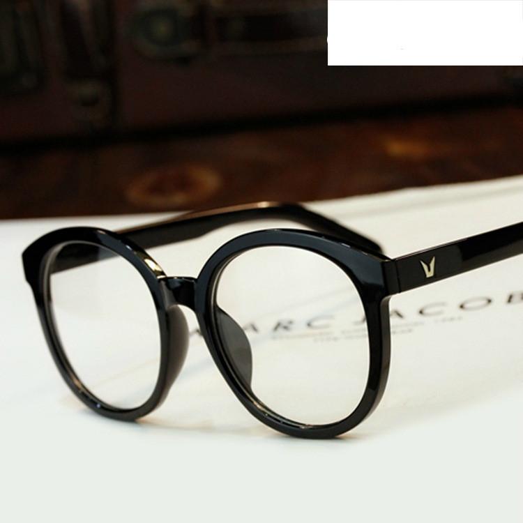Fashion Round Eyeglasses Retro Men Women Designer ...