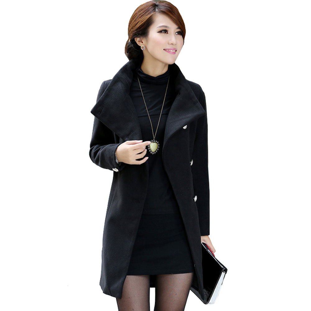 black winter coat women - photo #3