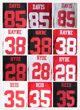 16 Joe Montana 28 Carlos Hyde 35 Eric Reid 42 Ronnie Lott 52 Patrick Willis 53 NaVorro Bowman 80 Jerry Rice 81 Anquan Boldin(China (Mainland))