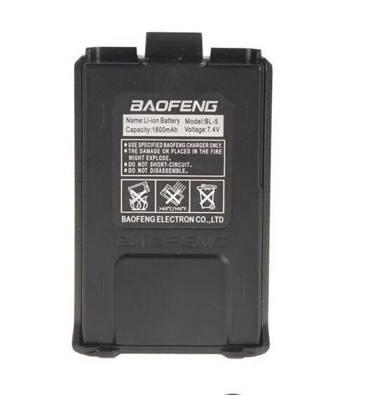 Гаджет  Promotional 1800mAH Original & Brand New Battery For BaoFeng UV-5R UV-5RA Two Way Radio With Free Shipping None Бытовая электроника