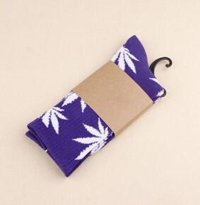 2015 году кленовый лист носки конопли марихуаны сорняков носки длинные скейтборд хип-хоп носки meia мужчин