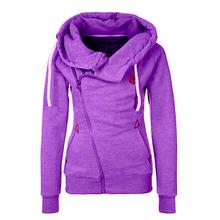2015 Europe personality Sweatshirt Hoodie Jacket side zipper