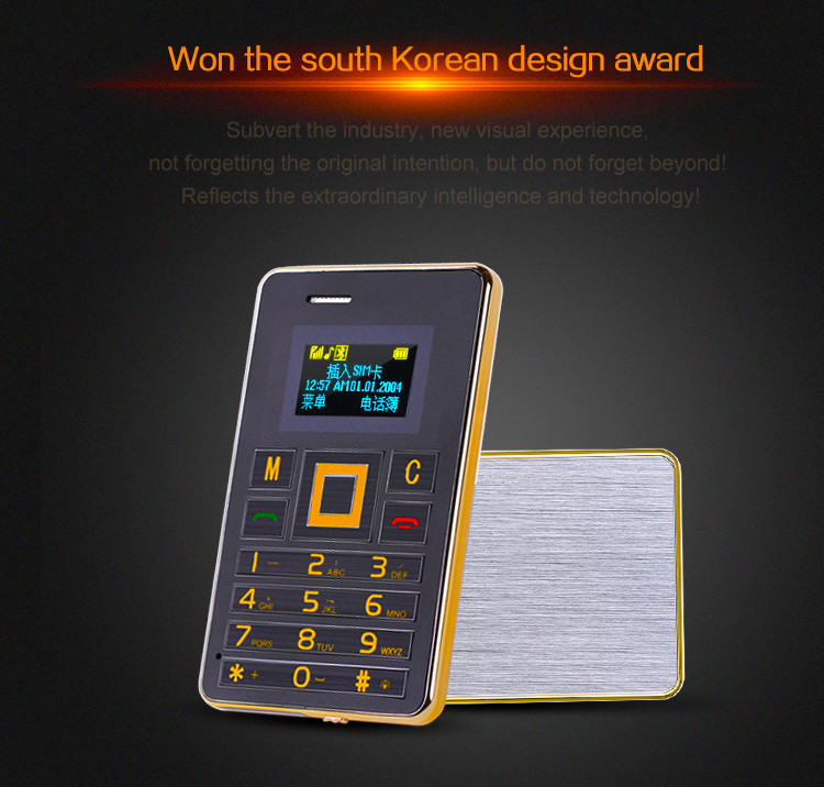 New Arrival AEKU K5 Ultra Thin Mini Phone Student Mobile Phone Card Phone MTK Chipset FM Bluetooth VS AIEK M5 Russia Arabic(China (Mainland))