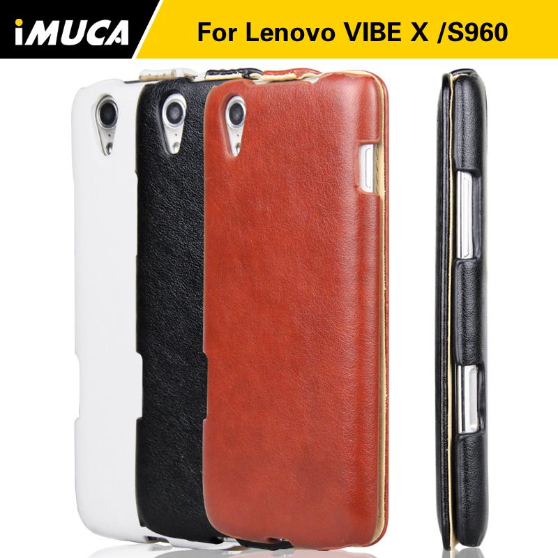 Lenovo S960 Vibe X Case cover IMUCA Brand Original luxury PU leather phone cases Lenovo S960 Case flip cover(China (Mainland))