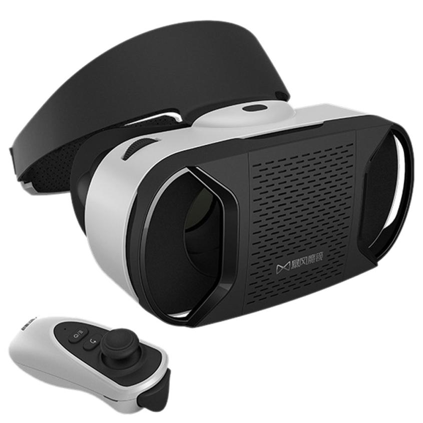 Top Quality Google Cardboard WIFI VR BOX Virtual Reality 3D Glasses+Remote Control For Samsung Galaxy S7 Android System Mar17(China (Mainland))