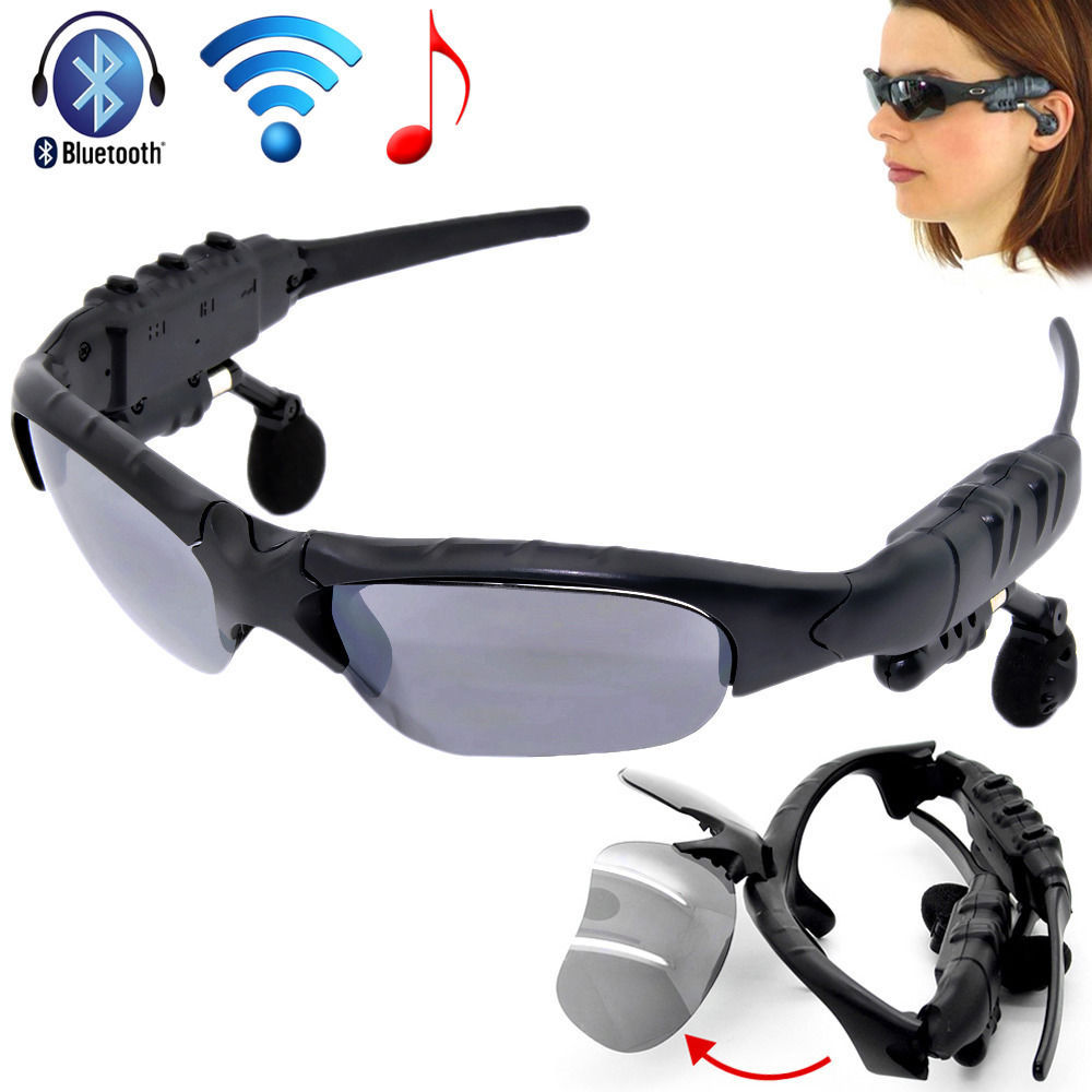 2015 New arrival Sunglasses Bluetooth Headset headphone Sun Glasses Music Player for Iphone5 4s Samsung Galaxy SIV S4 HTC ONE M7(China (Mainland))