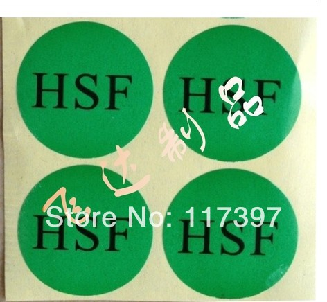 Adhensive sticker labels with custom logo 1000pcs/lot(China (Mainland))