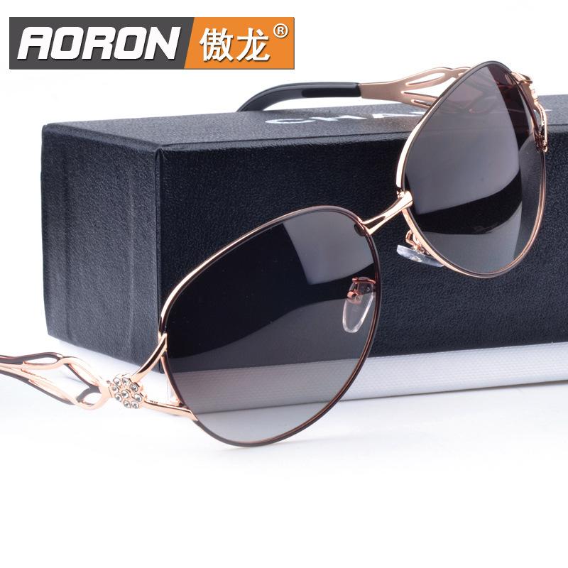 Polarized polarizer sunglasses female genuine female models 163 sunglasses men women female safety goggles sunglasses protective(China (Mainland))