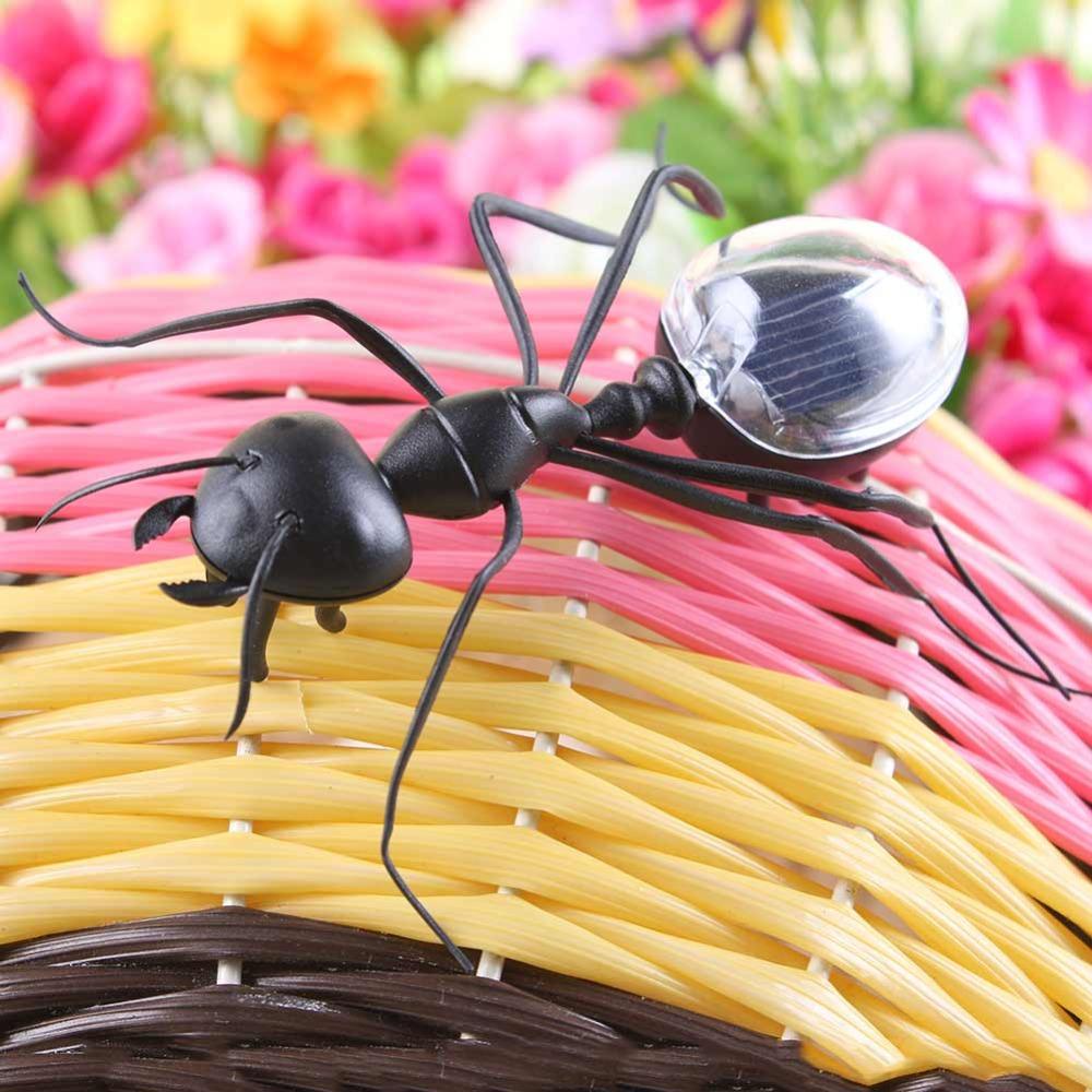 New Funny Solar Ant Toy Photovoltaic Joke Item Gift(China (Mainland))
