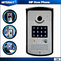 High Quality PBX IP Door Phone SIP Intercom Door Phone With Doorbell Feature Waterproof Numeric Keypad